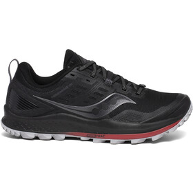 saucony Peregrine 10 Schoenen Heren, black/red